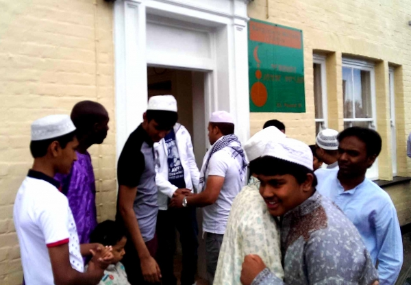 Eid Greetings to West Berkshire Community