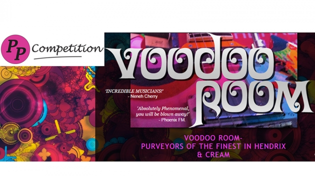 Jimi Hendrix Competition to win Voodoo Room gig tickets