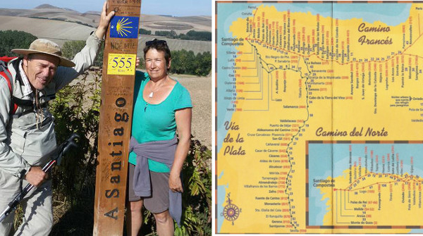 Catherine & Warren walk the Camino de Santiago Pilgrims' Way – Week 1