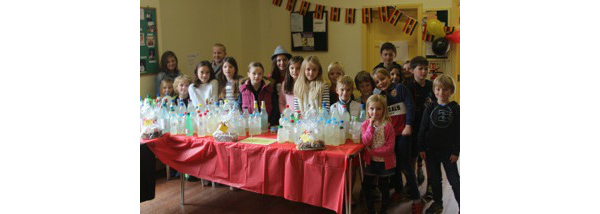 St Martin's Cake Sale raises nearly £1,500 for link school in Uganda