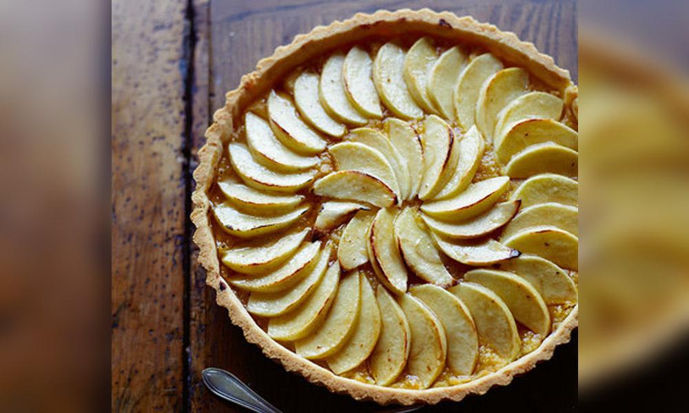 Almond Apple Tart Penny Postpenny Post