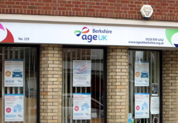 Support and financial assistance from Age UK Berkshire