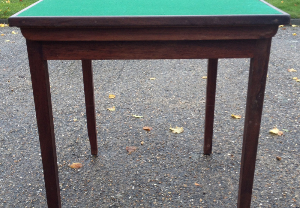 Folding Bridge Table