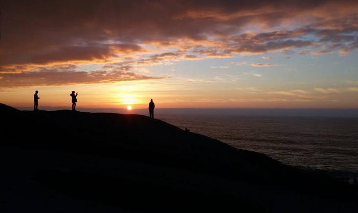 Muxia sunset