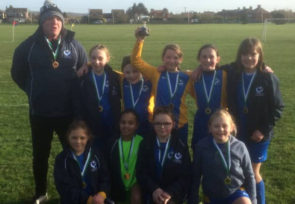 Hungerford Primary Footballers now Berkshire Champions