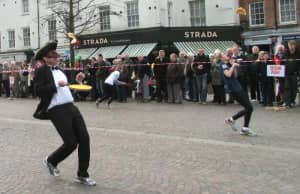 Newbury Pancake Day Races & Lunches @ Market Place