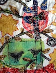 Exhibition: 'Folk Tales' by Anne Kelly @ The Old Chapel Textile Centre | Greenham | United Kingdom