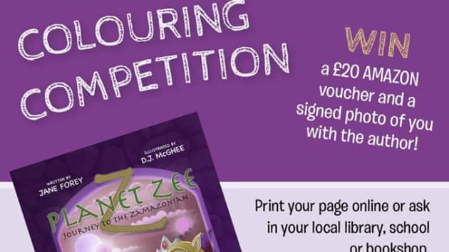 Win £20 Amazon Voucher in Planet Zee Colouring Competition