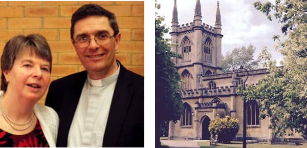 St Lawrence's Church welcomes new vicar Rev Mike Saunders