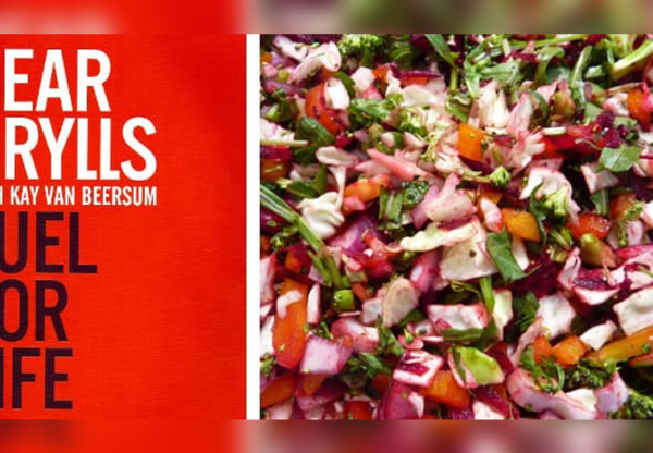 Rainbow Salad Recipe from Bear Grylls Fuel for Life