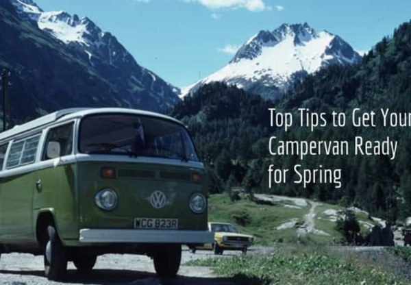 Top Tips to Get your Campervan Ready for Spring