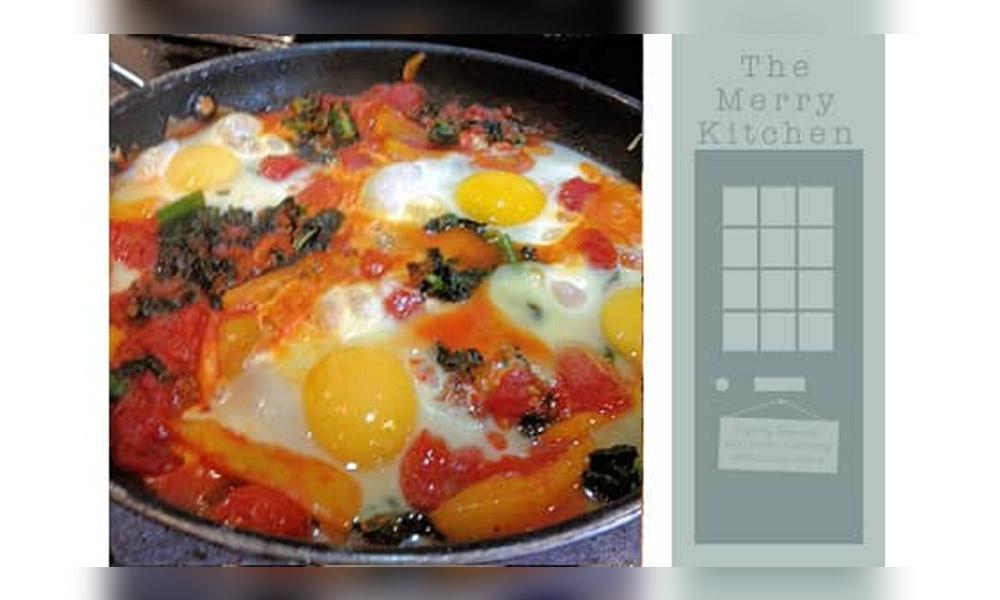 Merry Kitchen Winter Eggs