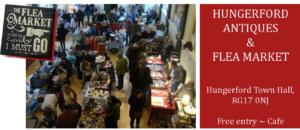 Indoor Antiques & Flea Market @ Hungerford Town Hall | United Kingdom