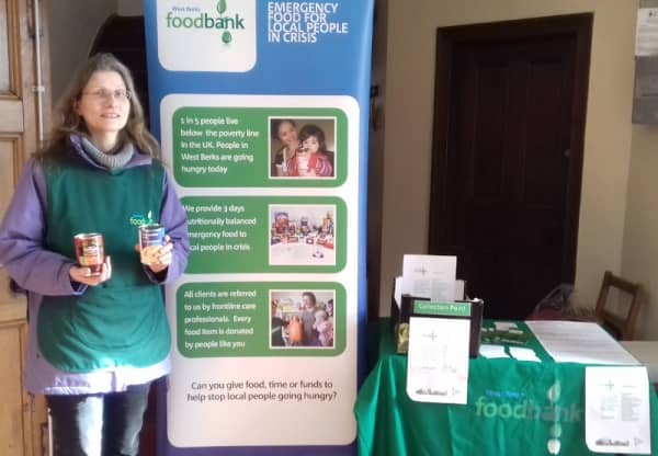 Crisis help from West Berkshire Foodbank