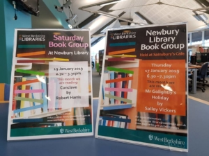 Newbury Library Book Group – Saturday @ Newbury Library