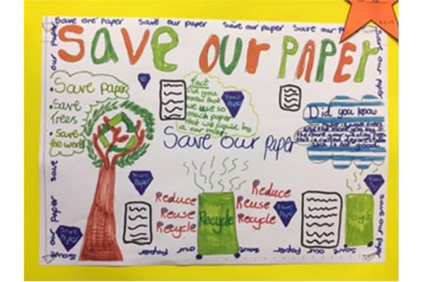 Year 4 Environmental Project at Hungerford Primary School