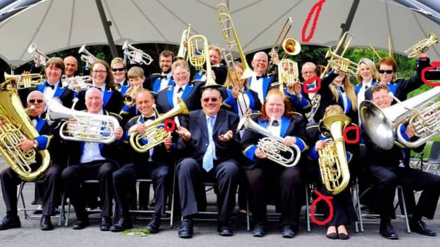 Hungerford Town Band – Spot the Difference!