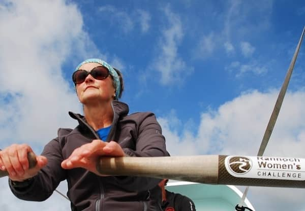 Local artist attempts an endurance rowing record