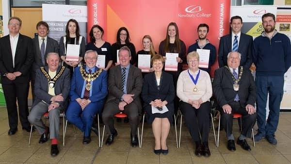 Newbury College Apprentice Awards Ceremony