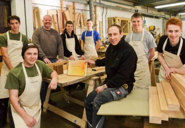 Apprenticeship Open Day at Benchmark Furniture Makers