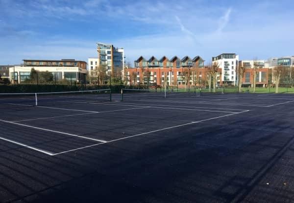 Refurbished Tennis Courts Open at Victoria Park, Newbury