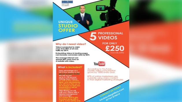 Talking Head videos from Dudleigh Films