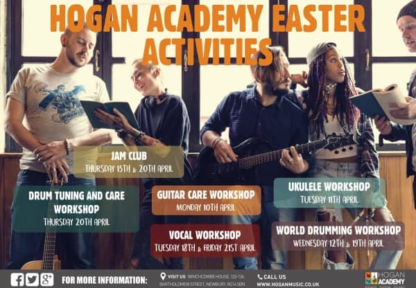 Music Workshops at Hogan Academy