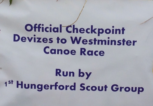 Canoe success and parades for Hungerford Scouts