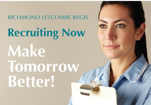 Nursing & Domiciliary Care Vacancies at Richmond Letcombe Regis
