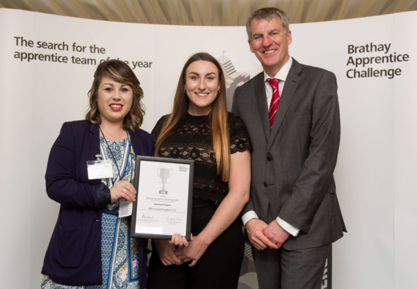 Local Apprentice Sarah Naylor makes National Finals as part of IBM team