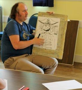 Cartoons and Caricatures with Simon Jardine @ Stockcross Village Shop | Stockcross | England | United Kingdom