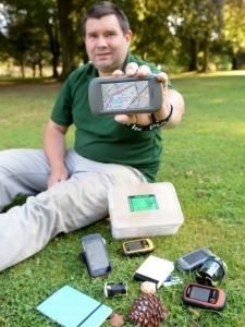 Geocaching at Stockfest with Adam Redshaw @ Stockcross House | Stockcross | England | United Kingdom