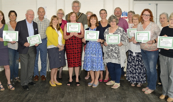 Hungerford Town Council Grants Award Ceremony