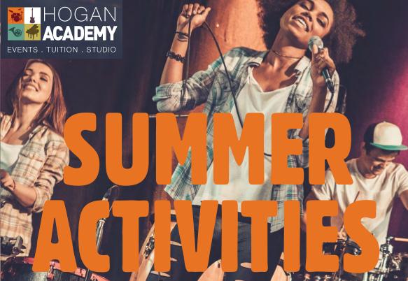 Hogan Music Academy – Summer Holiday Schedule 2017