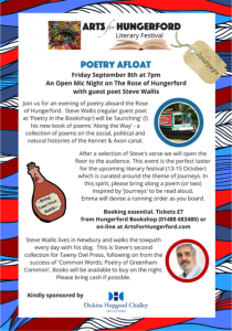 Poetry Afloat @ The Rose of Hungerford