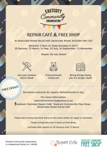Swindon Repair Cafe @ Eastcott Community Hall | England | United Kingdom