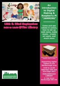 Jamming in Marlborough with Raspberry Pi @ Marlborough Library | England | United Kingdom