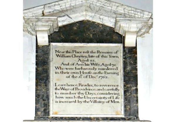 Murder Most Foul in 1762