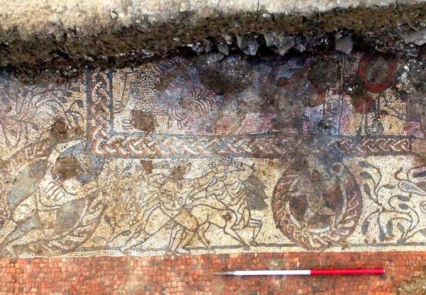 Boxford's Roman Mosaic