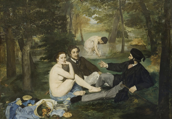 The Artist's Studio with Sir Courtney Inchbold-Grist: Le Déjeuner sur l'herbe