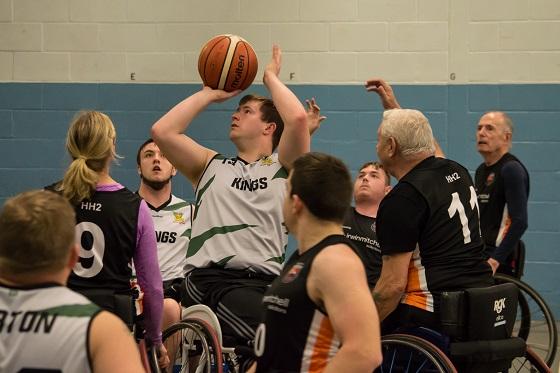 Kings Division Three team prepares for new 2017/18 British Wheelchair Basketball Season