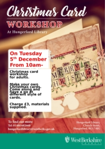 Christmas Card Workshop at Hungerford Library @ Hungerford Library