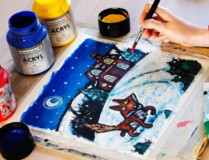 """Christmas at Holly Lane"" with Armadillo Art Experience @ Old Bluecoat School 