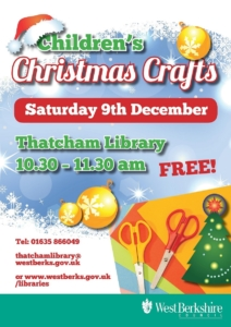 Children's Christmas Craft at Thatcham Library @ Thatcham library