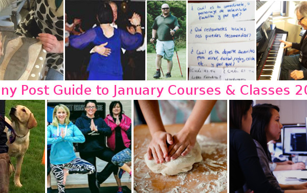 Penny Post Guide to Local Courses and Classes – January 2018
