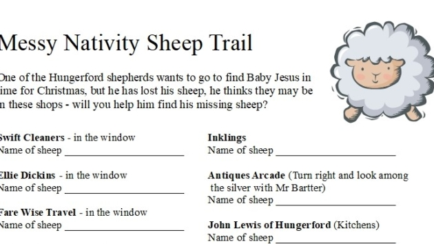 """Lost sheep"" in Hungerford!"