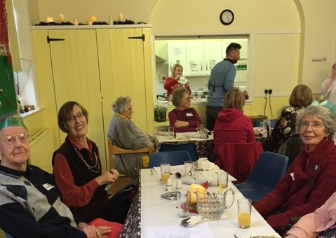 Huge thanks to Christmas Lunch Supporters!