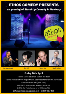 Ethos Comedy Night @ ACE Space | England | United Kingdom