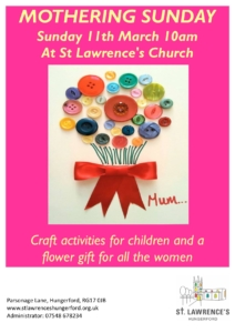 Mothering Sunday @ St Lawrence's Church | England | United Kingdom