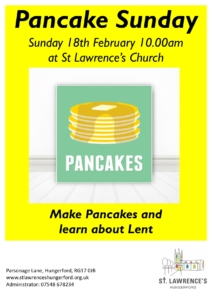Pancake Sunday @ St Lawrence's Church | England | United Kingdom